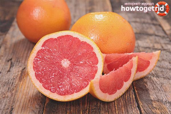 Грейпфрут во время беременности