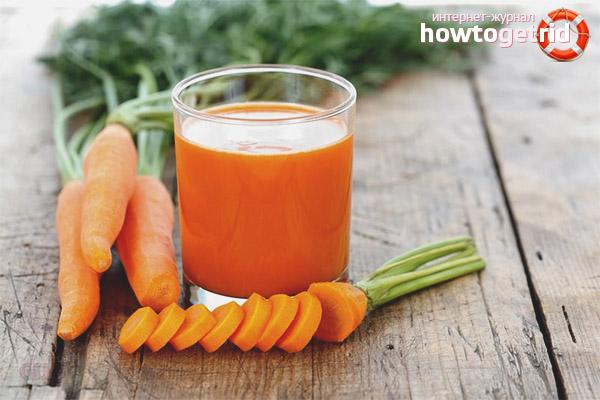 Как применять морковный сок при беременности