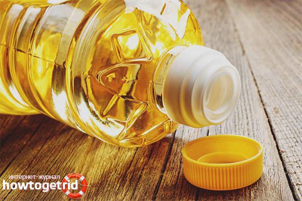 Как принимать подсолнечное масло при запорах
