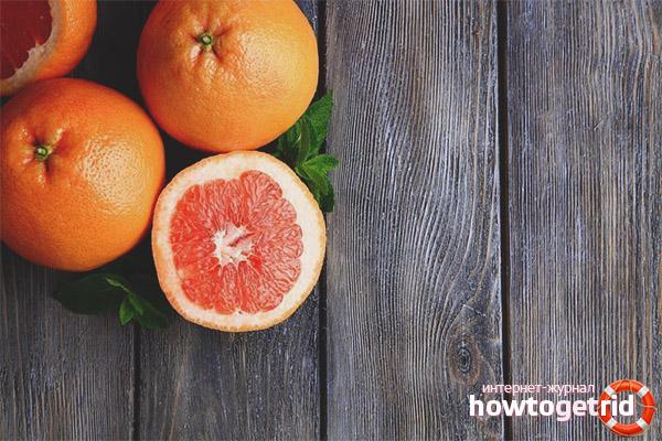 Как выбирать и хранить грейпфрут