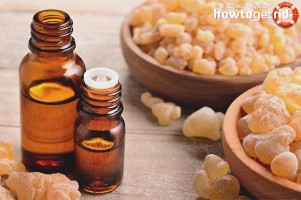 Показания и противопоказания к применению масла ладана