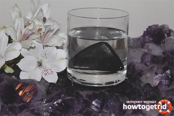 Способы приготовления шунгитовой воды