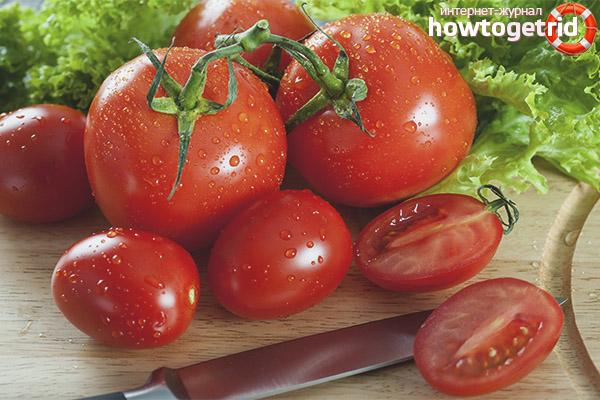 Как правильно съесть помидоры при ГВ