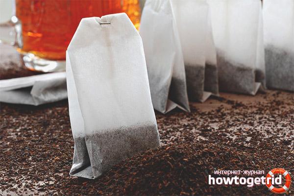 Как правильно заваривать чая в пакетиках