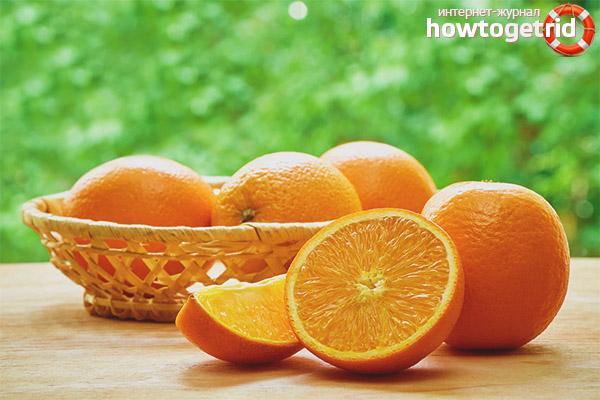 Как употреблять апельсины при грудном вскармливании