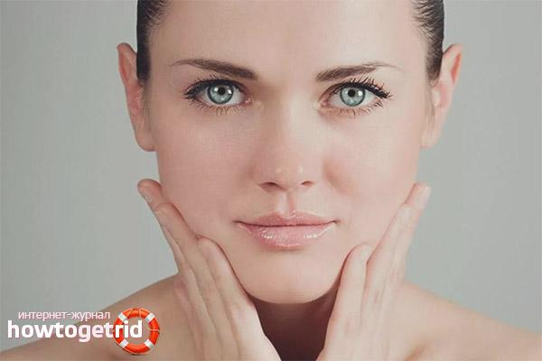 Как выровнять кожу лица