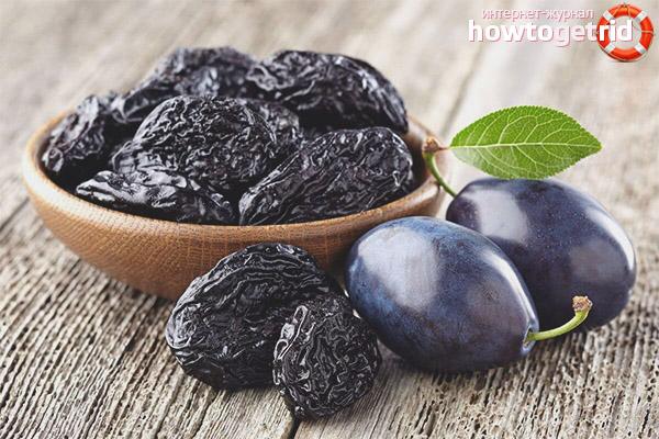 Лечебные свойства чернослива