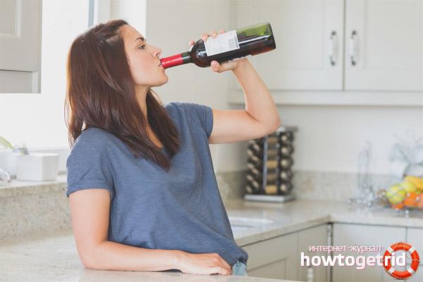 По каким причинам алкоголь запрещен во время лактации