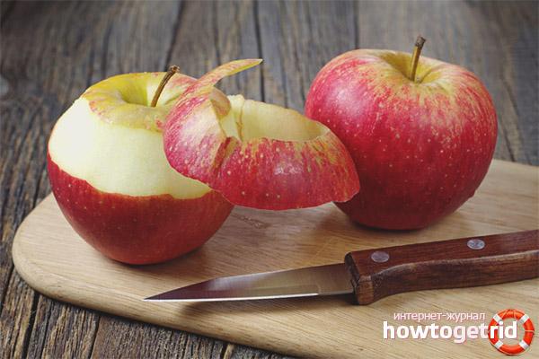 Полезные свойства и применение яблочной кожуры