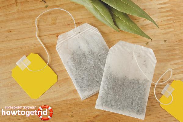 Польза и вред чая в пакетиках