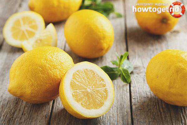 Правила введения лимонов в рацион кормящей мамы
