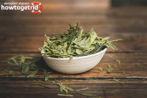 Производство чая лунцзин