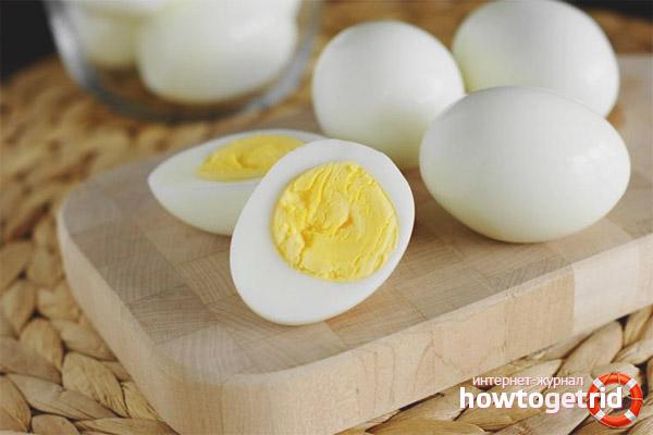 Противопоказания яиц