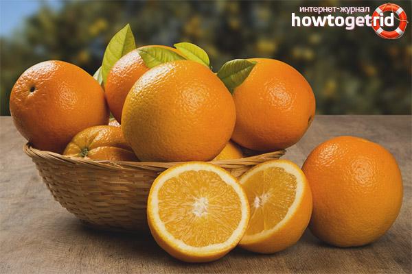 Вред апельсинов при грудном вскармливании