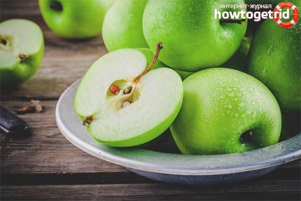 Вред семечек яблок
