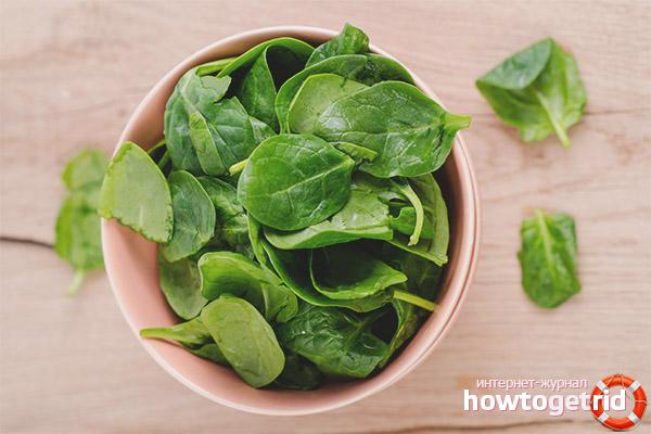 Как вводить шпинат в рацион кормящей маме