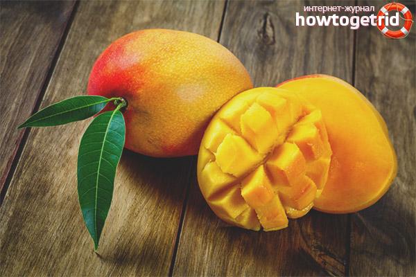 Польза манго для беременных